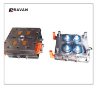 Preform mold for PET CAN4