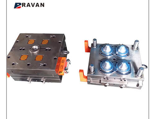 Preform mold for PET CAN